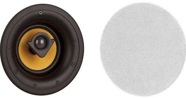 "Crestron® Essence® 5.25"" 2-Way In-Ceiling Speakers-ESSENCE IC5-W-T"