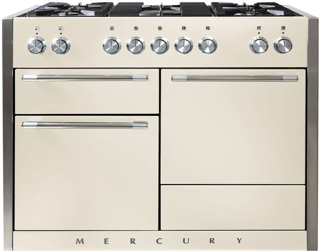 "AGA Mercury 48"" Ivory Dual Fuel Range-AMC48DF-IVY"