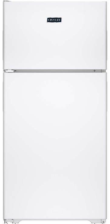 Crosley® 14.6 Cu. Ft. White Top Freezer Refrigerator-XPS15BTHLWW