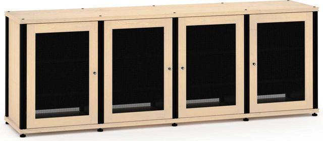 Salamander Designs® Synergy Model 347 AV Cabinet-Natural Maple/Black-347M/B