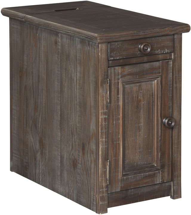 Signature Design by Ashley® Wyndahl Rustic Brown Chair Side End Table-T648-7