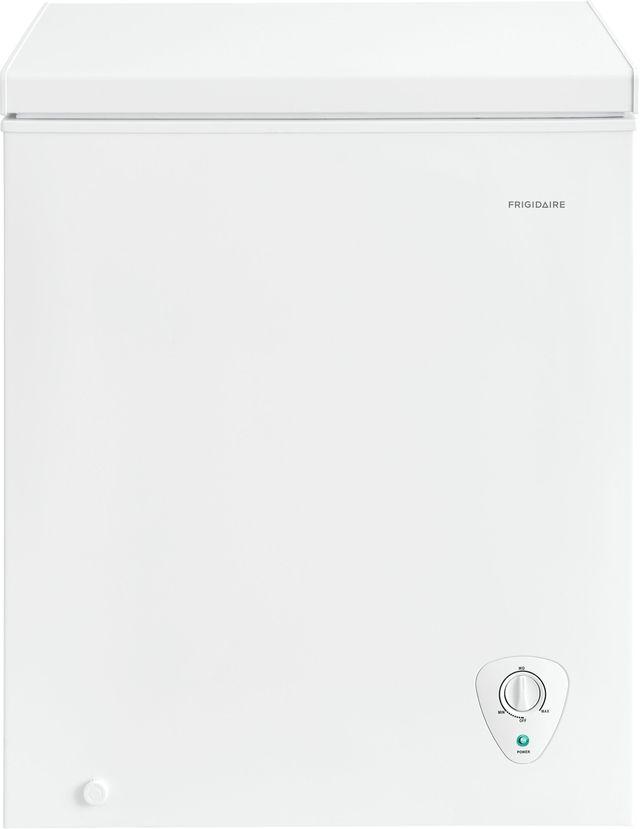 Frigidaire® 5 Cu. Ft. White Chest Freezer-FFFC05M2UW