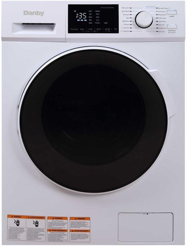 Laveuse-sécheuse combinée de 2,7 pi³ Danby® - Blanc-DWM120WDB-3