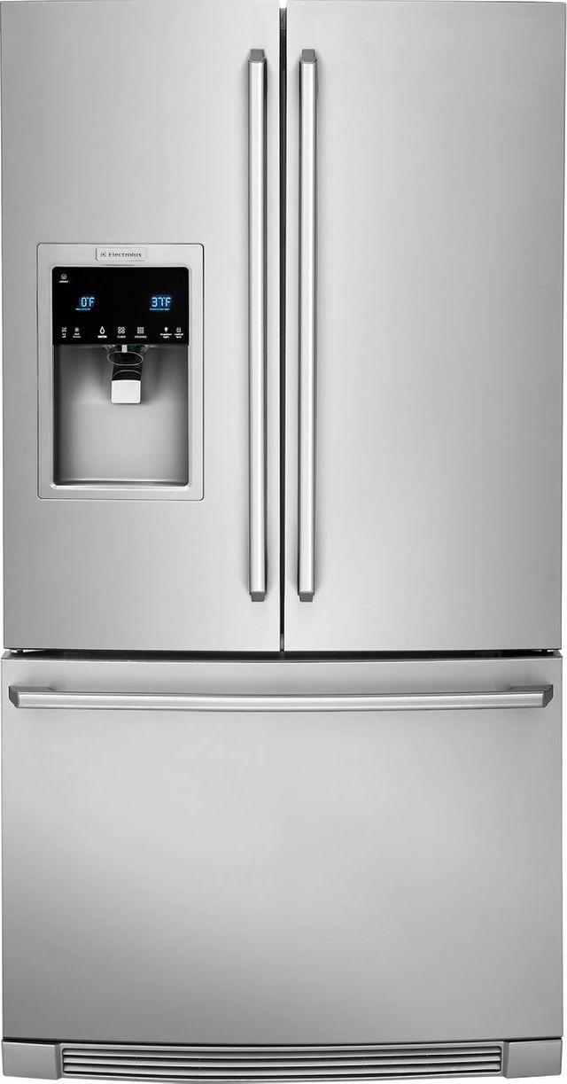 Electrolux Kitchen 21.64 Cu. Ft. Stainless Steel Counter Depth French Door Refrigerator-EI23BC37SS