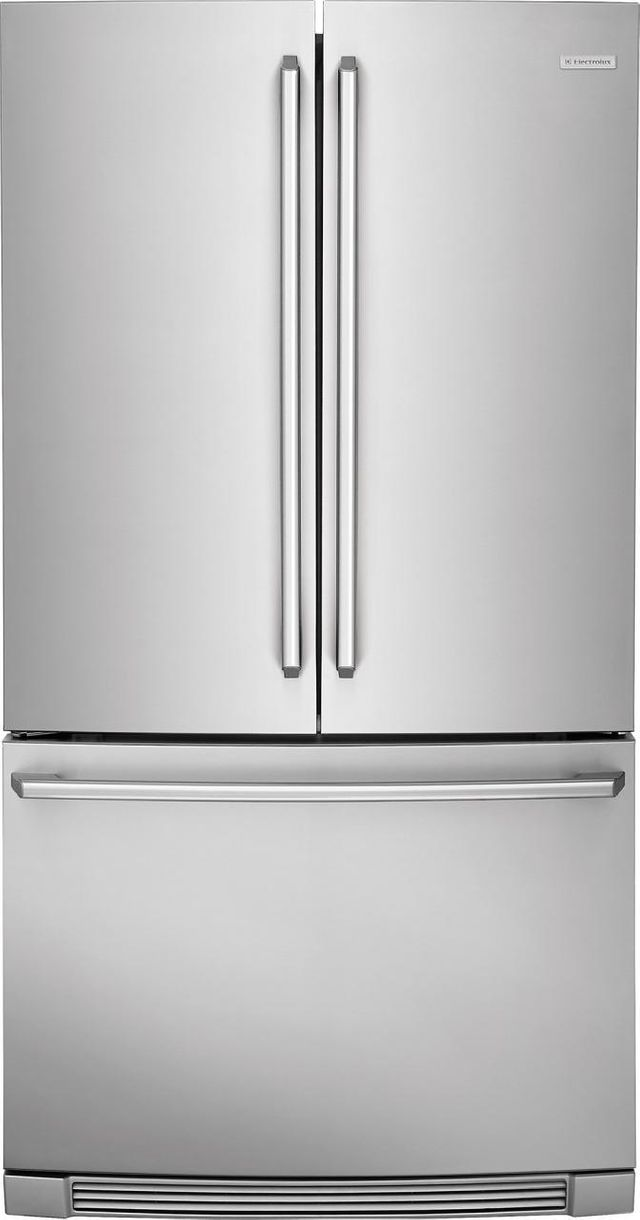 Electrolux Kitchen 22.3 Cu. Ft. Stainless Steel Counter Depth French Door Refrigerator-EI23BC82SS