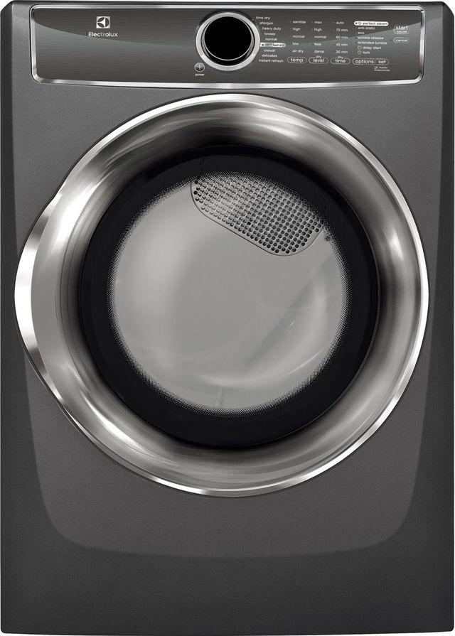 Electrolux 600 Series Front Load Perfect Steam™ Electric Dryer-Titanium-EFME617STT