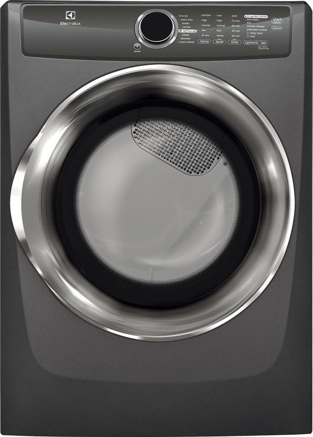 Electrolux 500 Series Front Load Perfect Steam™ Gas Dryer-Titanium-EFMG517STT