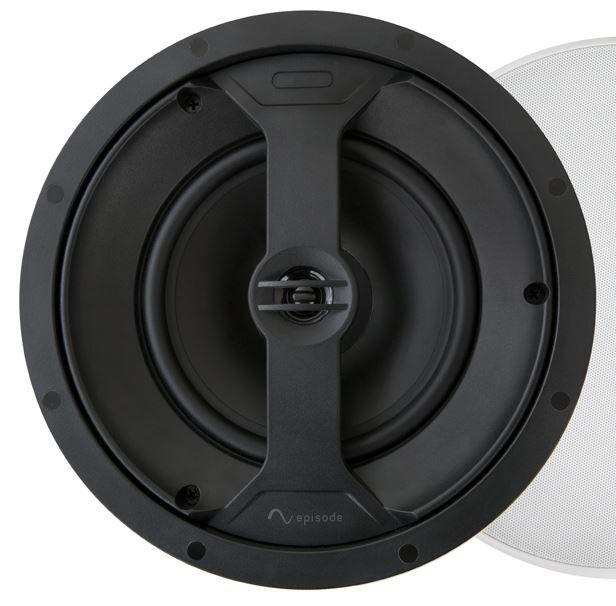 """SnapAV Episode® 150 Series 6.5"""" In-Ceiling Speaker-Black-ES-150T-IC-6"""