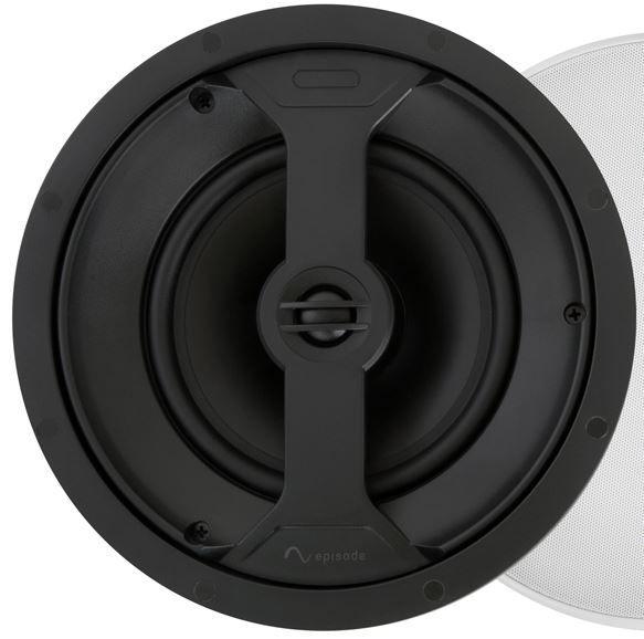 """SnapAV Episode® 350 Series 6.5"""" In-Ceiling Speaker-Black-ES-350T-IC-6"""