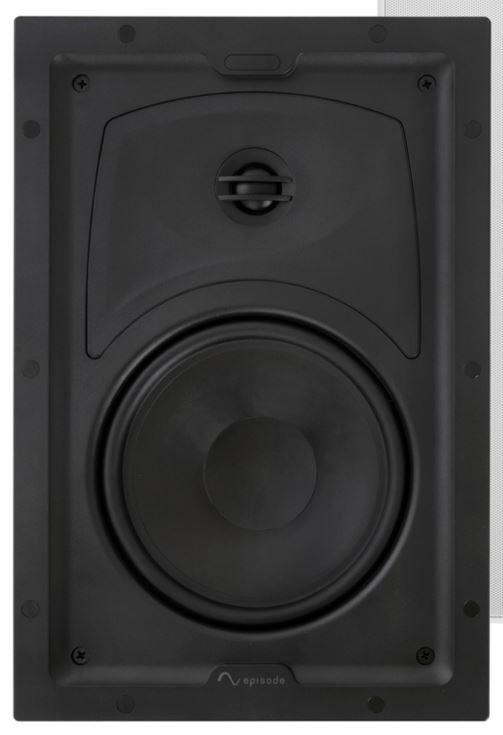 """SnapAV Episode® 350 Series 6.5"""" In-Wall Speaker-Black-ES-350T-IW-6"""