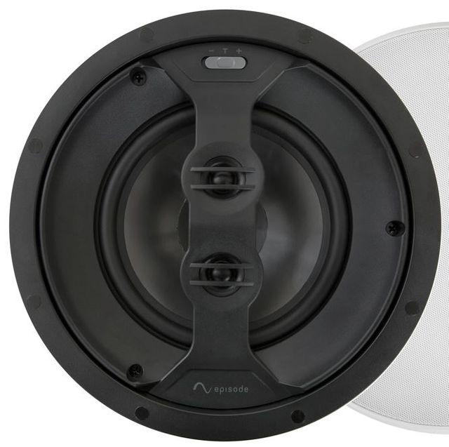 "SnapAV Episode® 550 Series 6.5"" In-Ceiling Dual Voice Coil Speaker-Black-ES-550T-ICDVC-6"