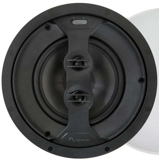 """SnapAV Episode® 550 Series 6.5"""" In-Ceiling Surround Speaker-Black-ES-550T-ICSURR-6"""