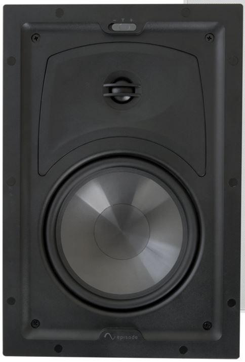 """SnapAV Episode® 550 Series 6.5"""" In-Wall Speakers-Black-ES-550T-IW-6"""