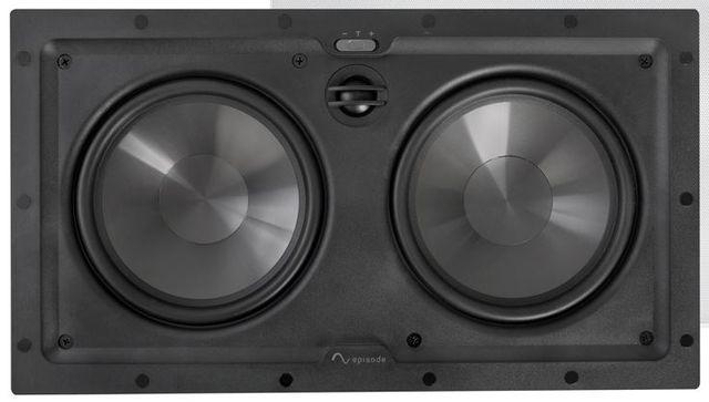 """SnapAV Episode® 550 Series 6.5"""" In-Wall LCR Speaker-Black-ES-550T-IWLCR-6"""