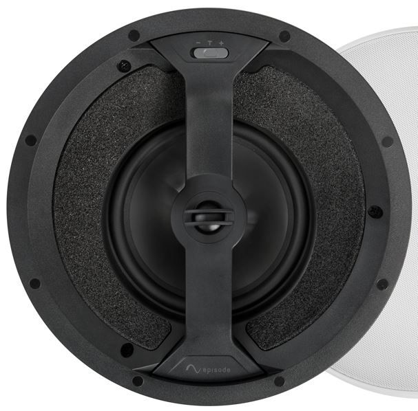 """SnapAV Episode® 550 Series 6.5"""" In-Ceiling Point Speaker-Black-ES-550T-POINT-6"""