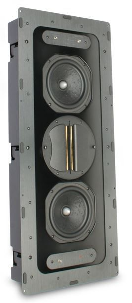 """SnapAV Episode® 900 Series 6.5"""" In-Wall Home Theater LCR Speaker-ES-HT900-IWLCR-6"""