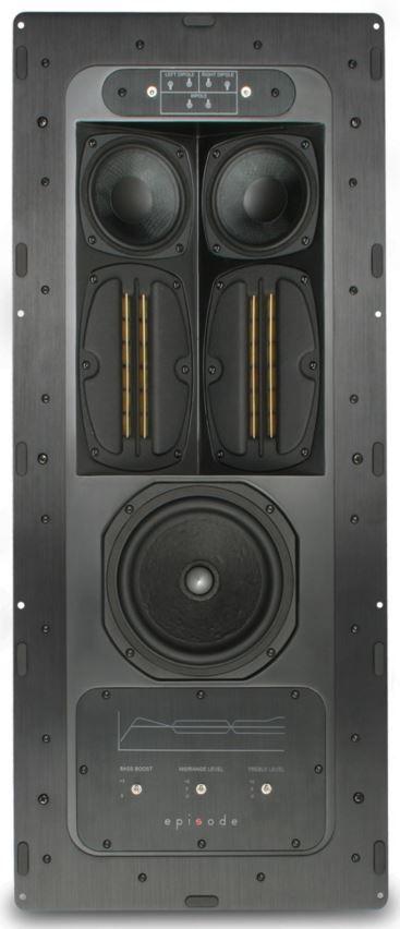 "SnapAV Episode® 900 Series 6.5"" In-Wall Home Theater Surround Speaker-ES-HT950-IWSURR-6"