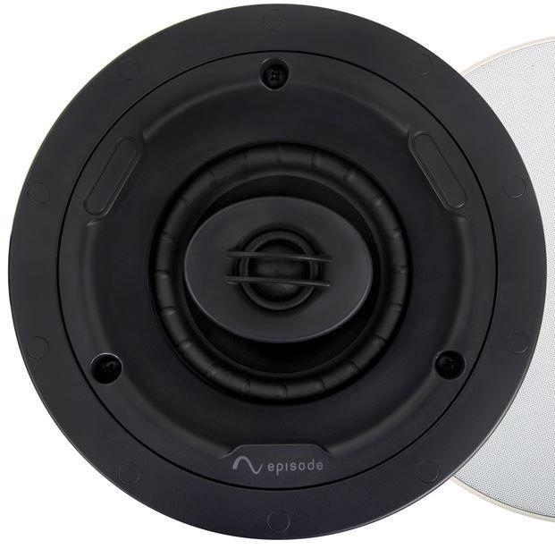 """SnapAV Episode® Signature 1300 Series 4"""" In-Ceiling Speaker-Black-ESS-1300T-IC-4"""
