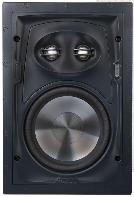 """SnapAV Episode® Signature 1500 Series 6"""" In-Wall Surround Speaker-Black-ESS-1500T-IWSURR-6"""