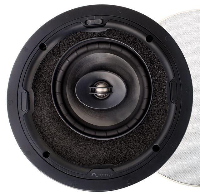 "SnapAV Episode® Signature 1500 Series 6"" In-Ceiling Point Speaker-Black-ESS-1500T-POINT-6"