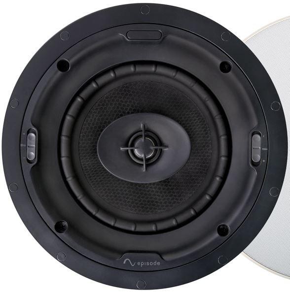 """SnapAV Episode® Signature 1700 Series 6"""" In-Ceiling Speaker-Black-ESS-1700T-IC-6"""