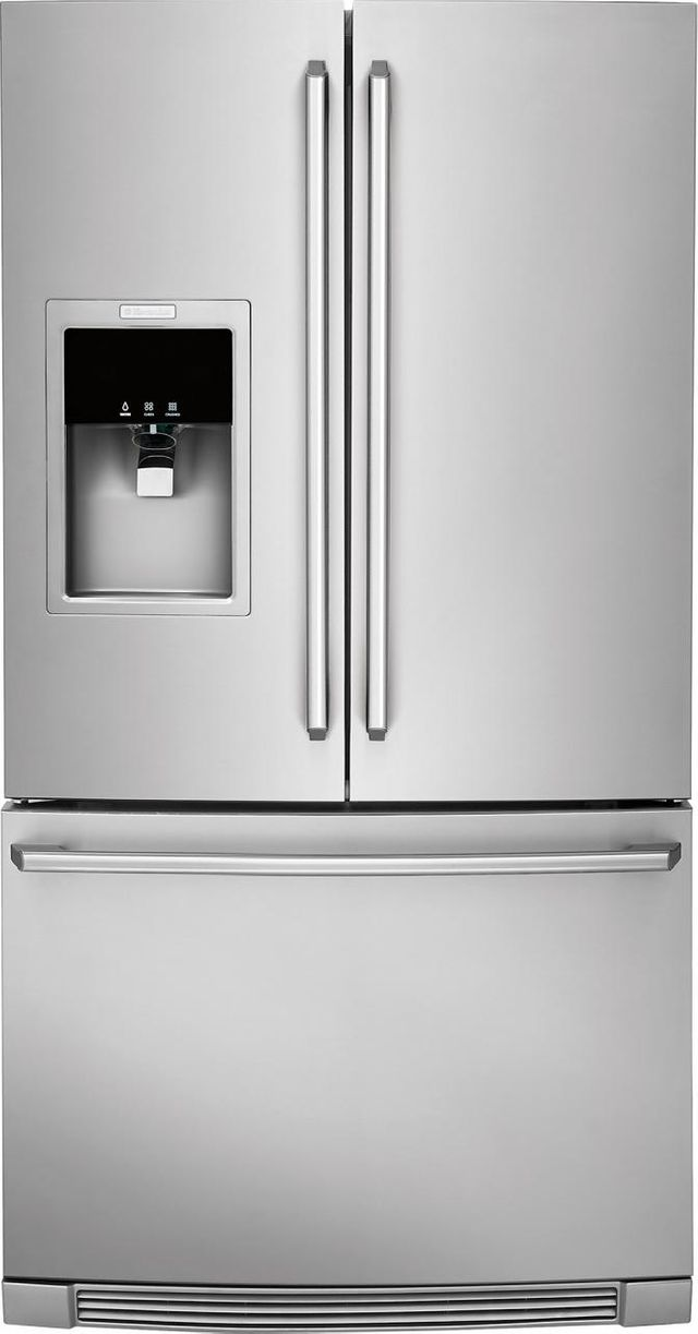 Electrolux Kitchen 21.54 Cu. Ft. Stainless Steel Counter Depth French Door Refrigerator-EW23BC87SS