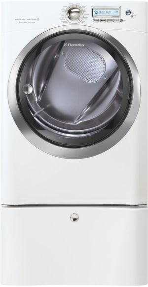 Electrolux Front Load Electric Dryer-Island White-EWMED70JIW