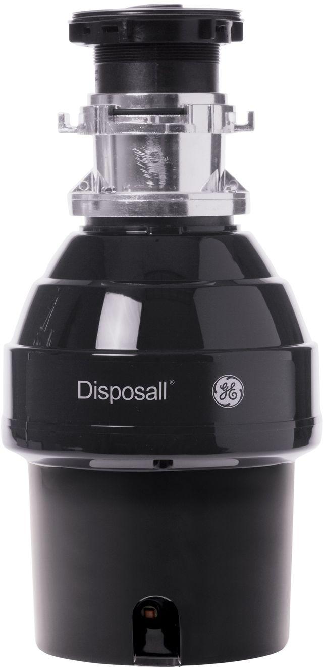 GE® 0.75 HP Black Continuous Feed Garbage Disposer-GFB760N