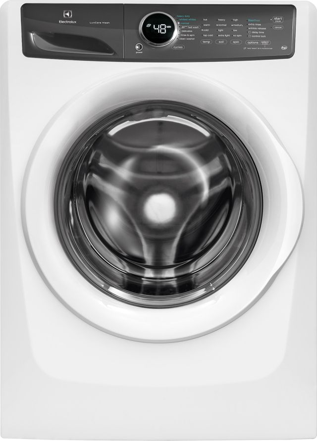 Electrolux Laundry 4.3 Cu. Ft. Island White Front Load Washer-EFLW427UIW-19-8888