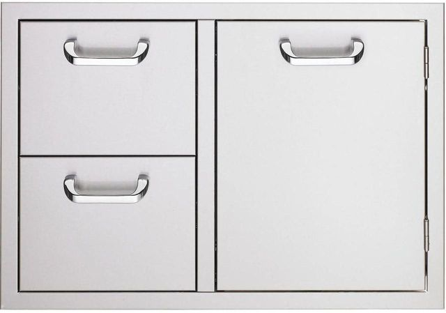 """Lynx® Sedona 30"""" Double Drawer and Access Door Combo-Stainless Steel-LSA530"""