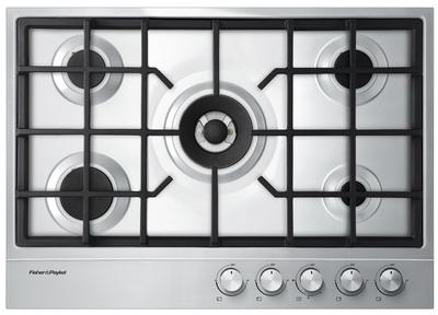 """Fisher & Paykel 30"""" Gas Cooktop-Stainless Steel-CG305DLPX1"""