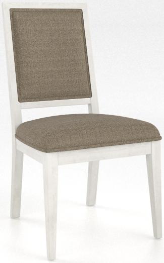 Chaise rembourrée Core, gris, Canadel®-CNN0312A6U90MNA