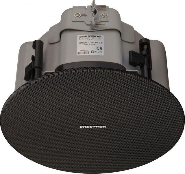 "Crestron® Saros® Express Low-Profile 6.5"" 2-Way In-Ceiling Subwoofer-Black-SAROS ICE6LPT-B-T-EACH"