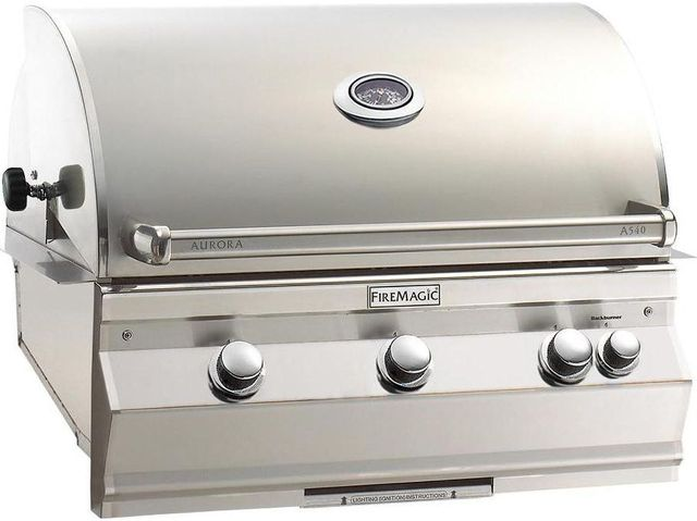 Fire Magic® Aurora Collection Built In Grill-Stainless Steel-A540i-6EAP