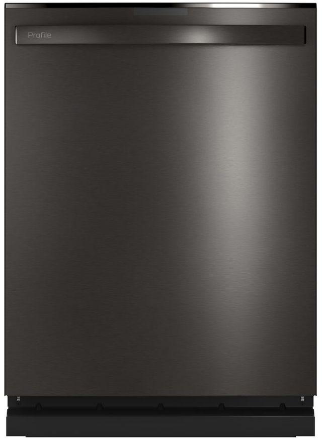"GE Profile™ 24"" Black Stainless Built In Dishwasher-PDT775SBNTS"