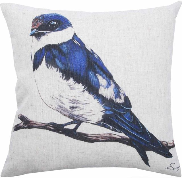 Coussin décoratif Bluebird Renwil®-PWFL1053