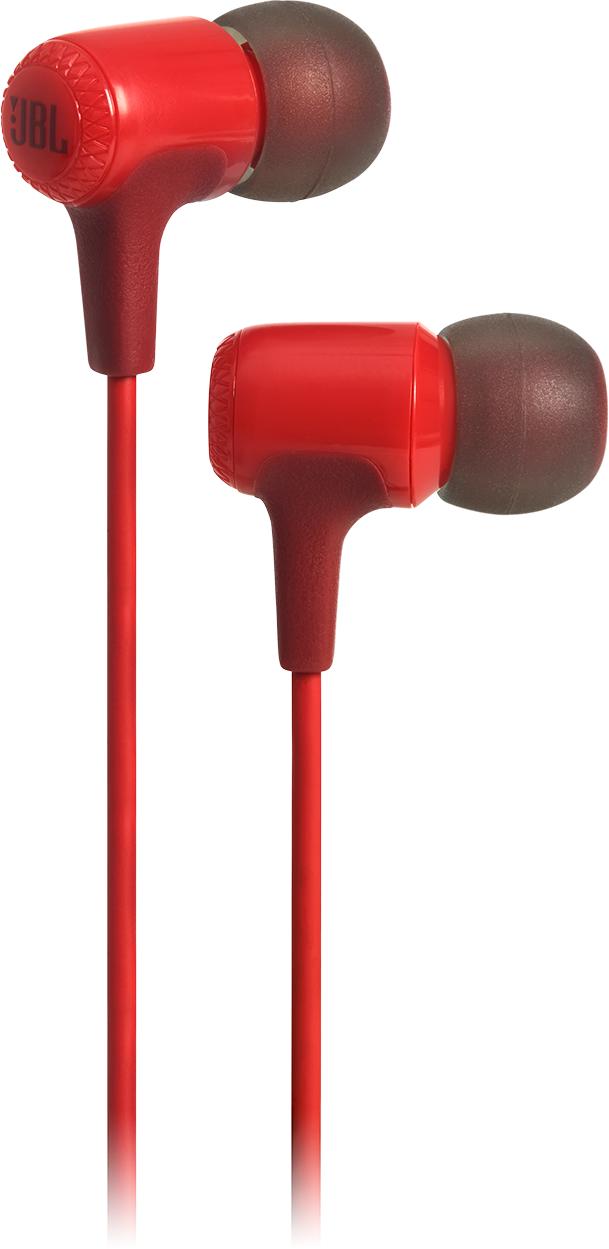 JBL® E15 In-Ear Headphones-Red-JBLE15RED
