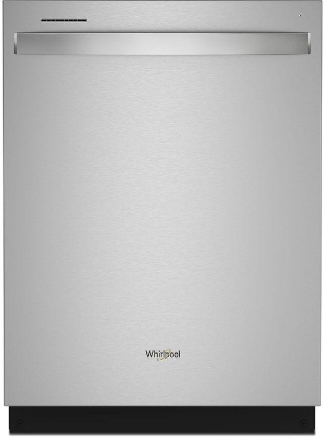 """Whirlpool® 24"""" Fingerprint Resistant Stainless Steel Built In Dishwasher-WDT750SAKZ"""