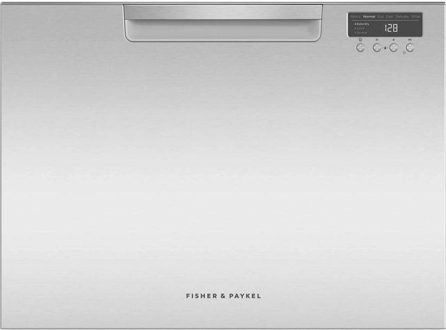 "Fisher & Paykel Series 7 24"" Stainless Steel Single DishDrawer™ Dishwasher-DD24SCTX9 N"