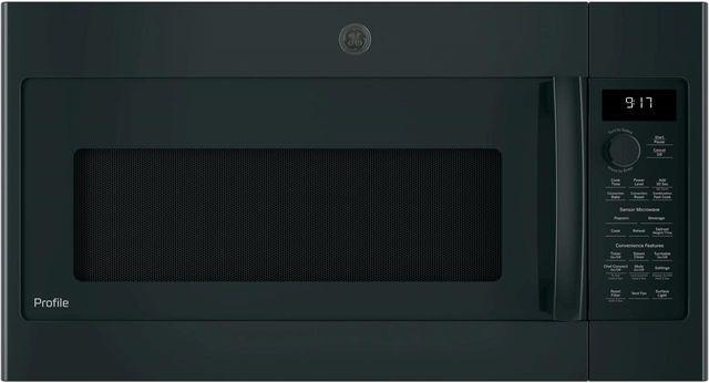 "GE Profile™ 29.88"" Black Over The Range Microwave-PVM9179DKBB"