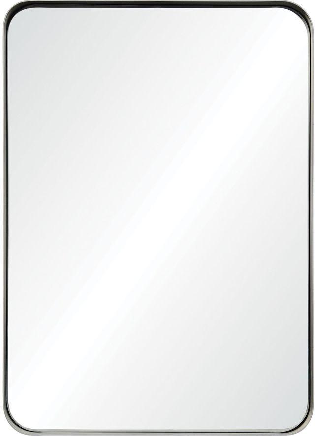 Miroir mural Vered, feuille d'argent antique, Renwil®-MT2351