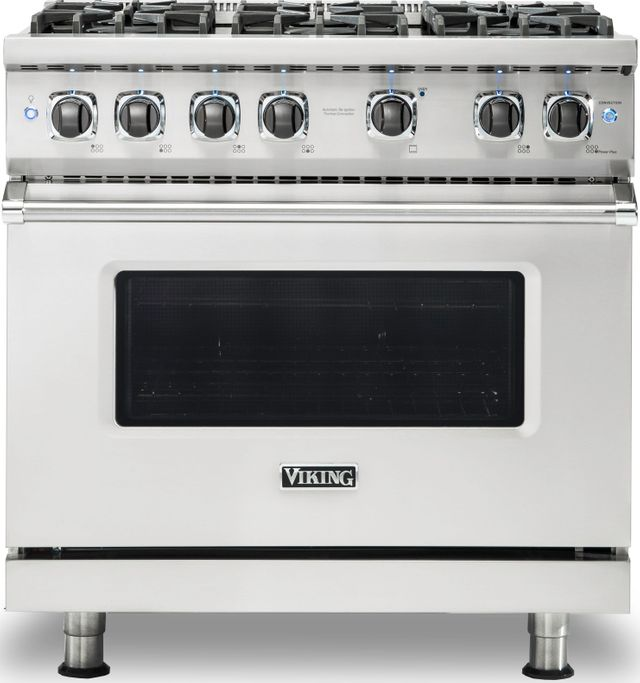 "Viking® Professional 5 Series 36"" Pro Style Gas Range-Stainless Steel-VGR5366BSSLP"