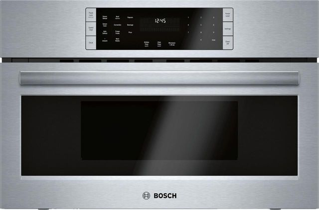 """Bosch Benchmark® Series 29.75"""" Stainless Steel Electric Oven/Micro Combo Built In-HMCP0252UC"""