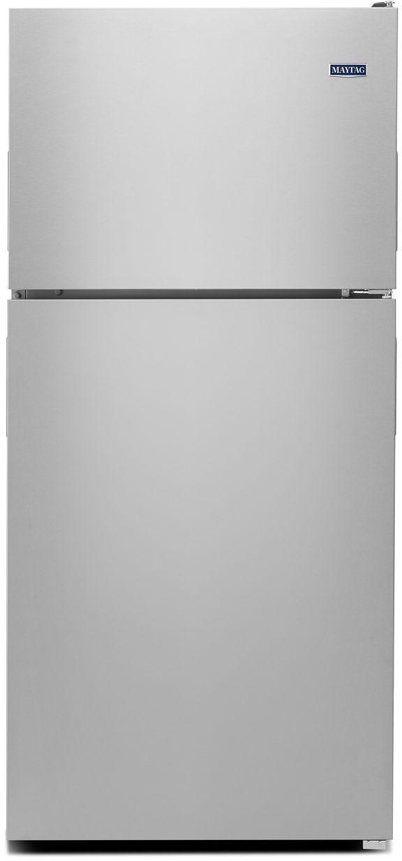 Maytag® 18.15 Cu. Ft. Fingerprint Resistant Stainless Steel Top Freezer Refrigerator-MRT118FFFZ