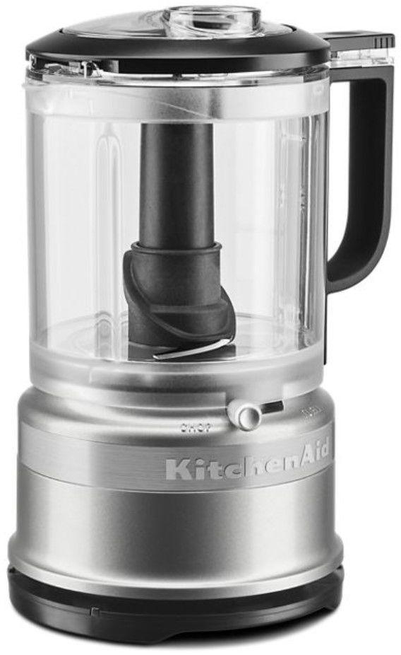 KitchenAid® 5 Cup Contour Silver Food Chopper-KFC0516CU