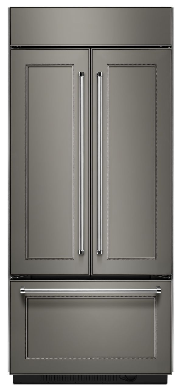 KitchenAid® 20.81 Cu. Ft. Panel Ready Built In French Door Refrigerator-KBFN506EPA