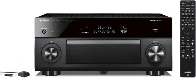 Yamaha® Aventage Black 9.2 Channel AV Receiver-RX-A3080BL