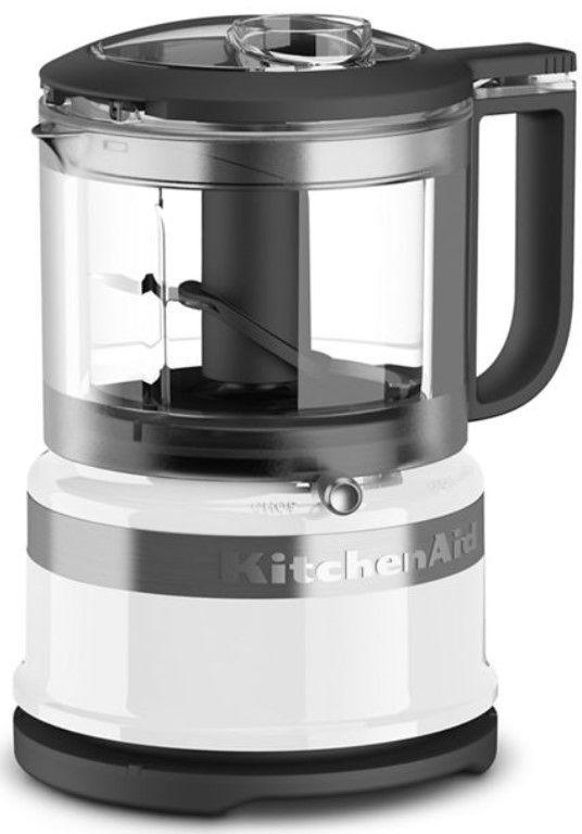 KitchenAid® 3.5 Cup White Food Chopper-KFC3516WH