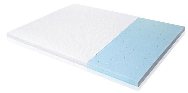 """Malouf® Sleep Isolus® 2.5"""" Gel Memory Foam Twin Mattress Topper-IS25TT45GT"""