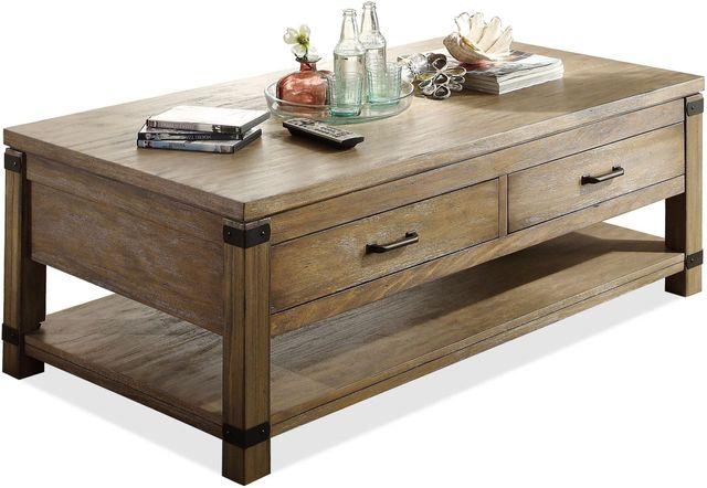 Riverside Furniture Bay Cliff Rectangular Coffee Table-37702